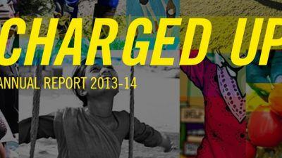 Charged Up: Annual Report 2013-2014