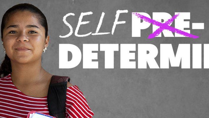 Maria Fernanda, 16, is Self-Determined.
