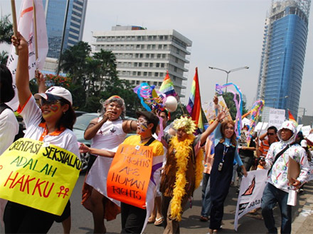 LGBT parade in the Philippines