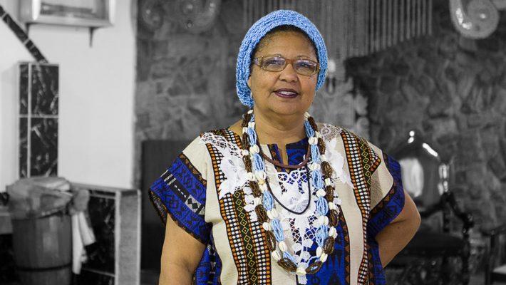 Nilce, a Brazilian activist