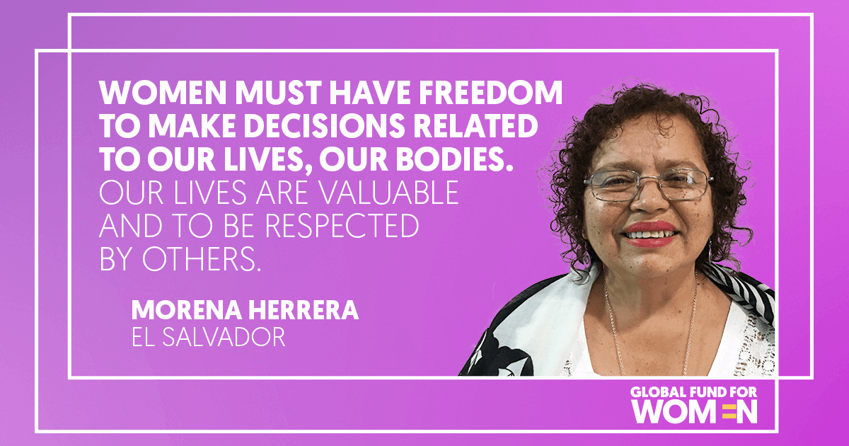 Women must have freedom to make decisions related to our lives, our bodies. Our lives are valuable and to be respected by others.