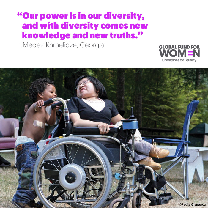 Our power is in our diversity, and with diversity comes new knowledge and new truths.