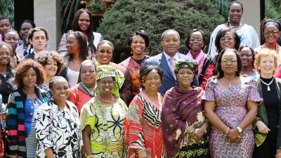 Group photo from the 2014 launch of the Women's Platform for Peace in Addis Ababa
