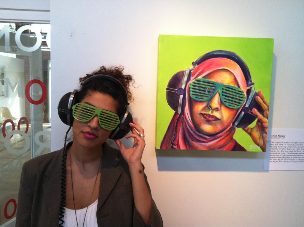 Saba Chaudry Barnard Artist Image