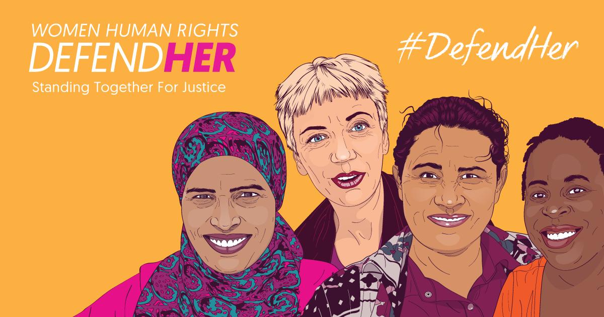 DefendHer: Women Human Rights Defenders